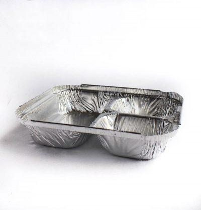 Molde de aluminio 3 divisiones (2045)