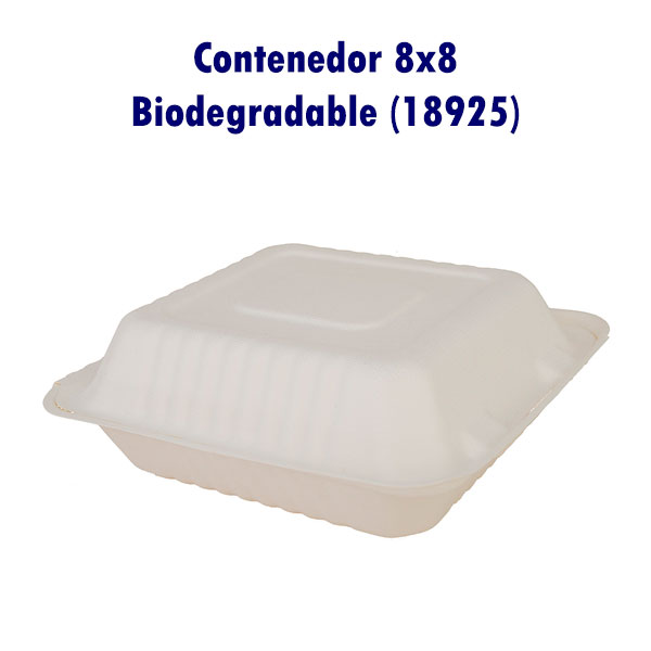 Contenedor 8x8 Biodegradable (18925)