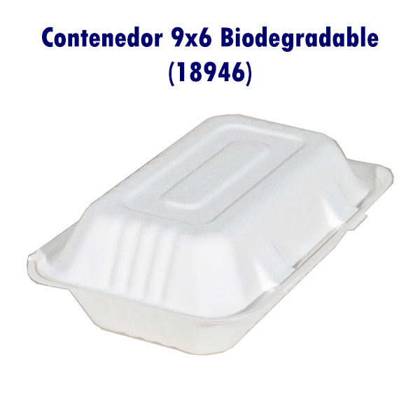 Contenedor 9x6 Biodegradable (18946)