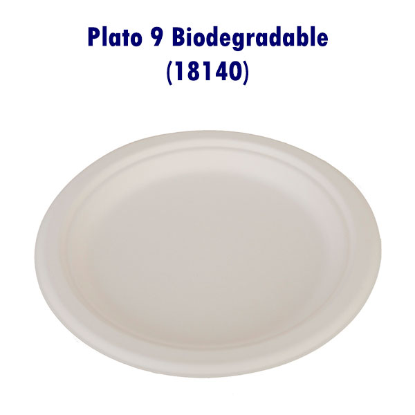 Plato 9 Biodegradable (18140)